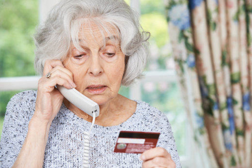 How to Prevent a Senior From Falling to Scams